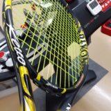 高校テニス新入部員生のFirstラケットを当店でご購入いただきました_スリクソンrevoCV3.0
