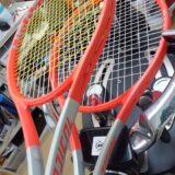NEW Radical MP張らせていただきました!学生ぶりのテニス再開 熟考してラケットを新調した男性プレーヤー